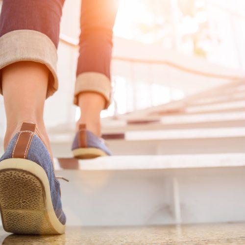 chuze do schodů